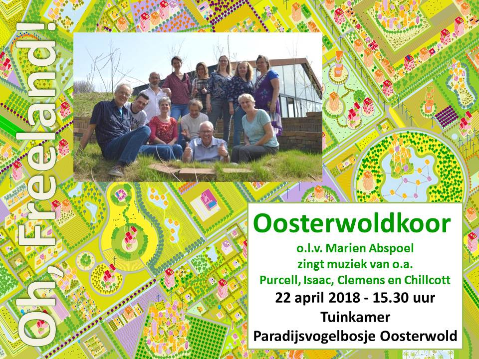 poster oosterwoldkoor